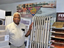 Out & About: Frank Beaver, owner of FBMW Inc. Flooring Contractors