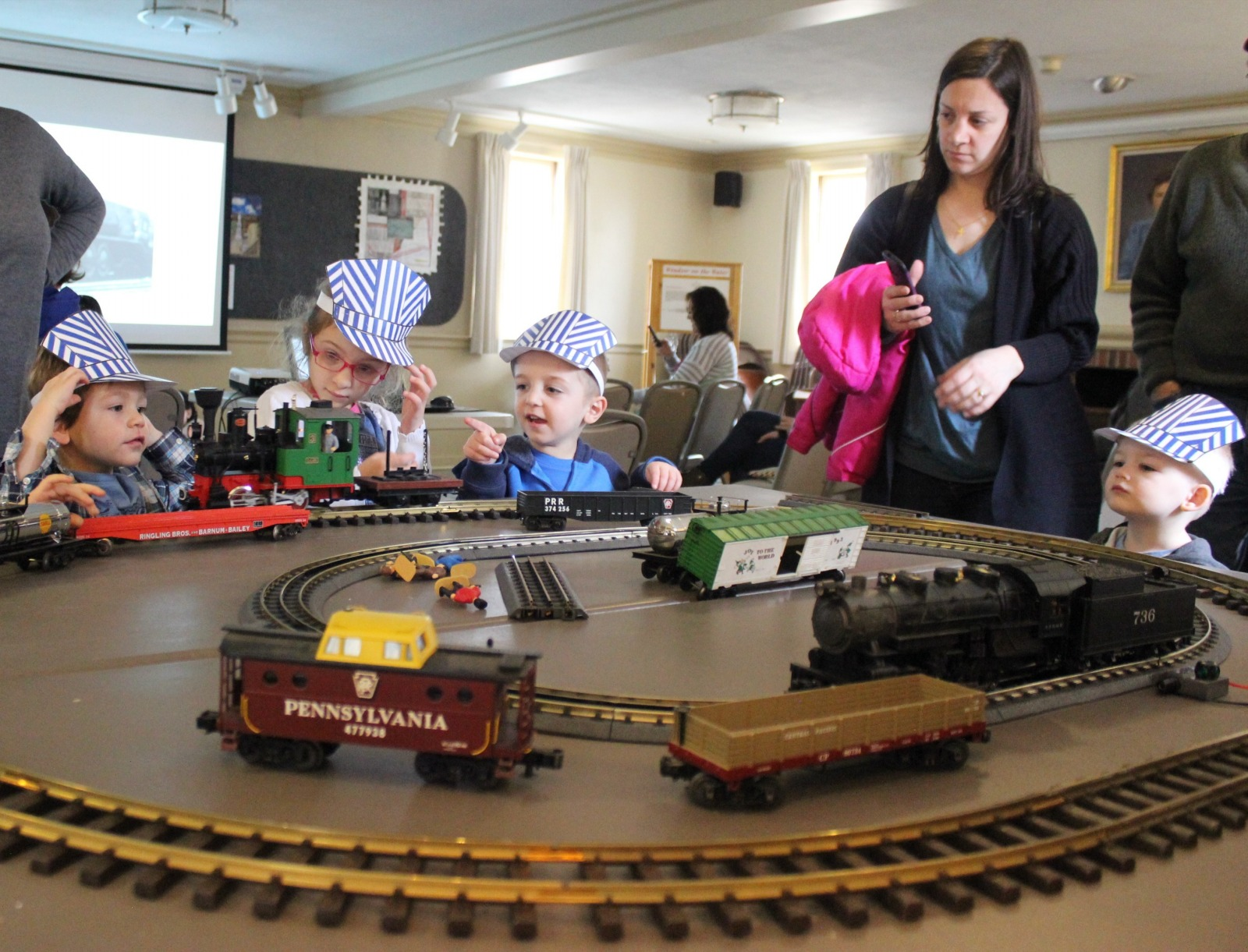All Aboard! Trains for Kids!