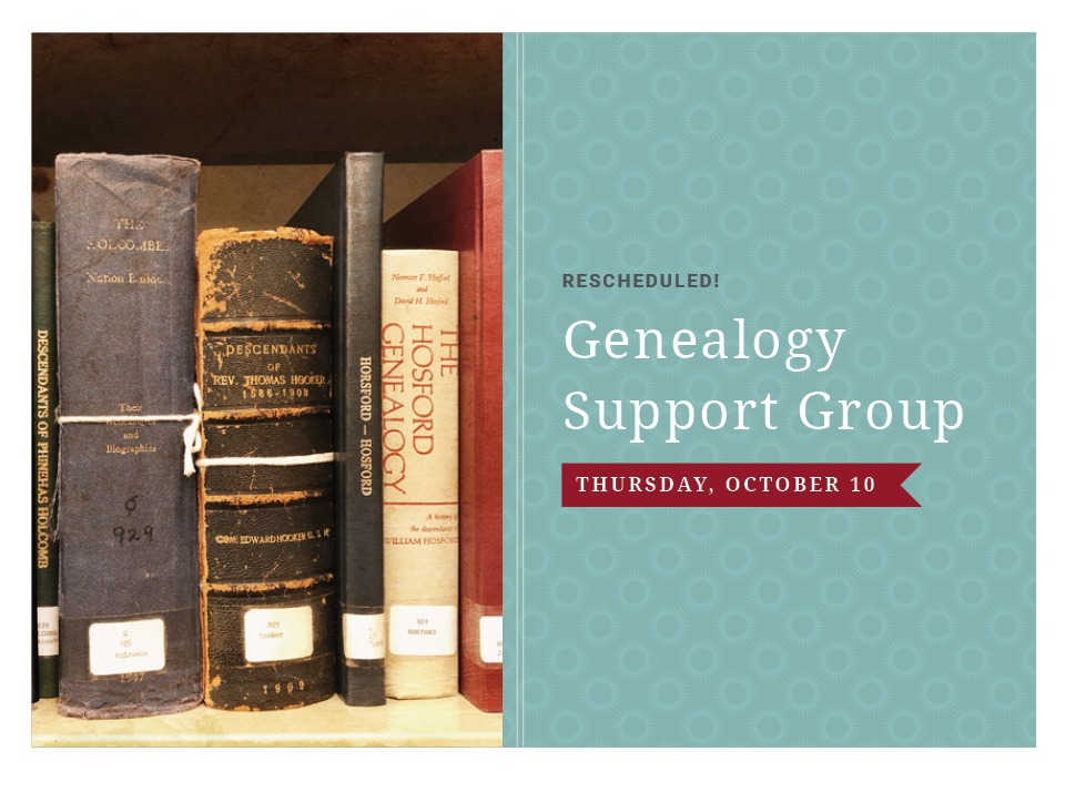 Free Genealogy Support Group