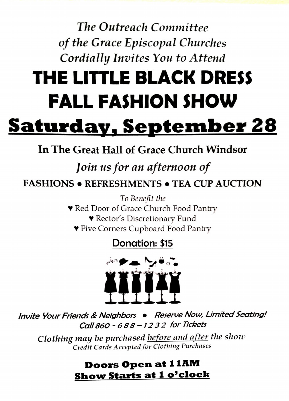 Little Black Dress Fundraiser