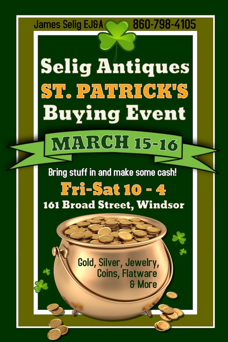 St. Patty's Day Buying Event