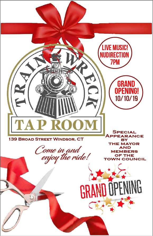 Train Wreck Tap Room Grand Opening